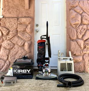 Kirby Avalir Vacuum Cleaner w/ Shampoo Kit & Attachments for Sale in El Cajon, CA