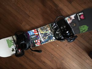 Snowboard Alibi Sicter/Burton 158 cm for Sale in Staten Island, NY