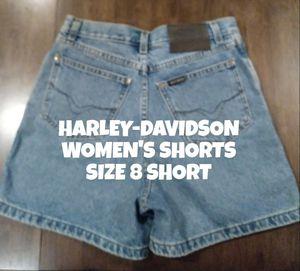 HARLEY-DAVIDSON SHORTS, WOMEN'S 8 for Sale in Glendale, AZ
