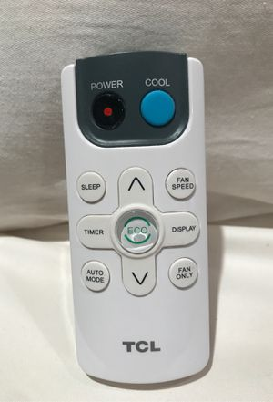 TCL Air Conditioner Remote Control for Sale in Los Angeles, CA