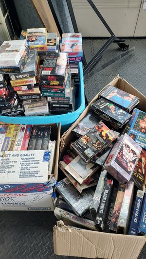 100's of VHS Tapes for Sale in Winchester, CA