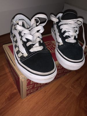 Checkered Vans size 11c for Sale in Altamonte Springs, FL