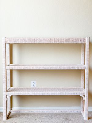 complete rattan shelf for Sale in Peoria, AZ
