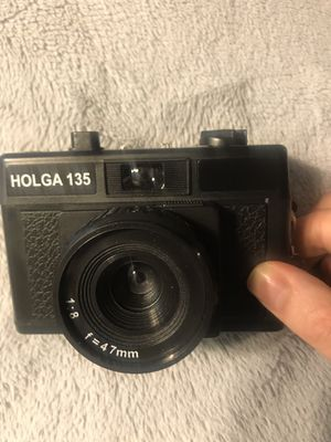 Holga 135 35mm film camera ultra light weight and streamlined for Sale in Seattle, WA