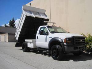 2006 Ford F550 F-550 Dump Truck Flatbed Stake Bed Landscape Truck F450 for Sale in Long Beach, CA