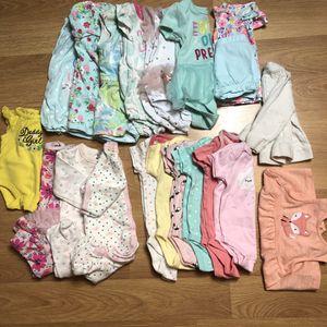 20 piece bundle 3-6 Months for babygirl for Sale in Las Vegas, NV