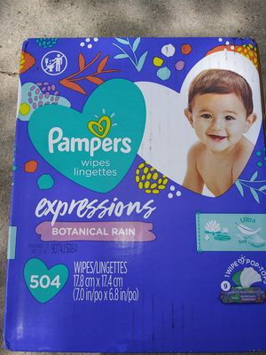 Pampers wipes for Sale in Fort Worth, TX