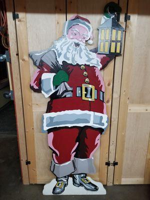 Santa Claus - Christmas, Wood, Handpainted for Sale in Glendora, CA