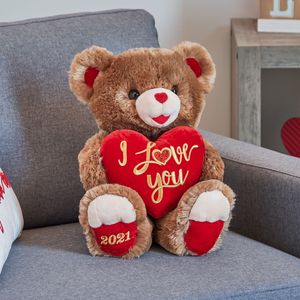 Valentine's Day Large Sweetheart Teddy Bear, Brown for Sale in Washington, DC