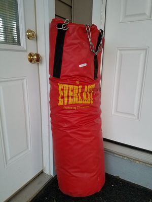 Bag for punching or martial arts. Lightly used. Repair on back. for Sale in Fort Belvoir, VA