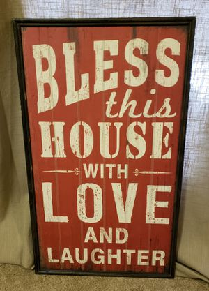 Pier 1 Imports Farmhouse Sign for Sale in Post Falls, ID