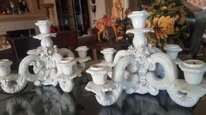 Made in Italy candle holders for Sale in Wildomar, CA