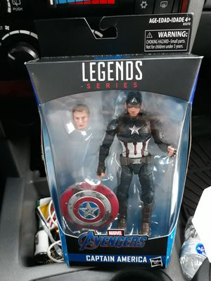 Marvel Legends end game Captain America Thor hammer Worthy Walmart exclusive figure for Sale in Milwaukee, WI