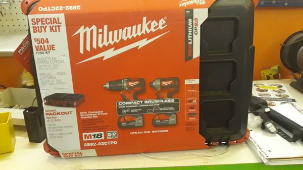 Milwaukee red lithium CP 2.0