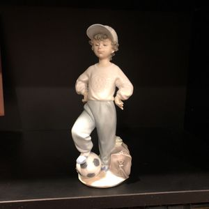 Lladro Rotary International Soccer Player for Sale in Rockwall, TX