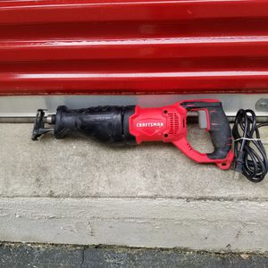Craftsman Reciprocating Saw for Sale in Cary, NC