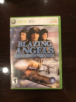Blazing angels Xbox 360 game for Sale in Dallas, TX