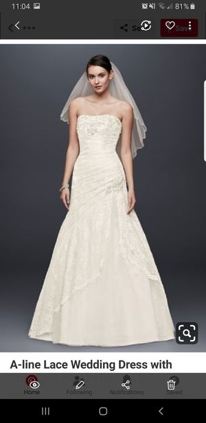 Wedding dress for Sale in Pinellas Park, FL