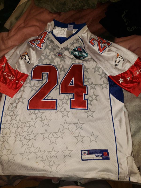 Champ Bailey special edition pro bowl jersey