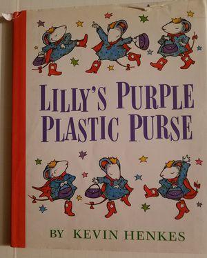 Lily's purple plastic purse book for Sale in Ontario, CA