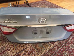 Parts Hyundai Sonata 2011-2014 Rear bumper with a trunk for Sale in Aurora, CO