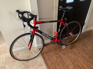 Roubaix Specialized Road Bike with Multiple Spare Parts and Safety Items for Sale in Flower Mound, TX