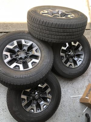 """Rims Toyota Tacoma 265/70 16"""" for Sale in Ruskin, FL"""