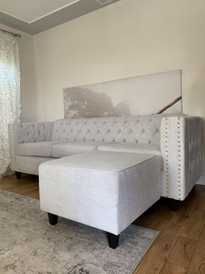 $1300 brand new couch with ottoman for Sale in Los Angeles, CA
