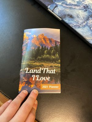 Land That I Love 2021 Planner for Sale in Ithaca, NY