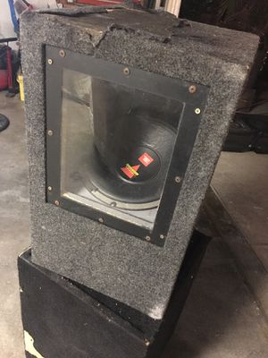 "12"" JBL Subwoofer Speaker for Sale in South Gate, CA"
