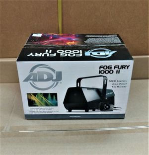American DJ Fog Furry 1000 II High Output Fog Machine with Remote Control for Sale in Los Angeles, CA