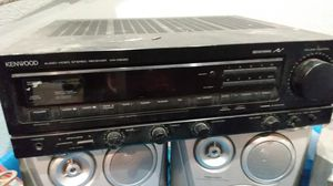 Kenwood receiver audio video stereo receiver for Sale in Baldwin Park, CA