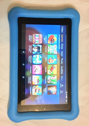 Amazon Kindle Fire 7 Kids Edition Tablet w/Alexa 16GB WiFi Bundle $75 O.B.O. for Sale in Wells, TX