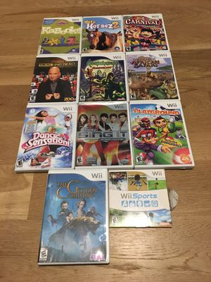 11 Nintendo Wii Games for Sale in Apex, NC