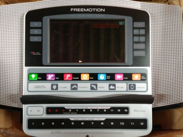 Treadmill - Elliptical Consoles