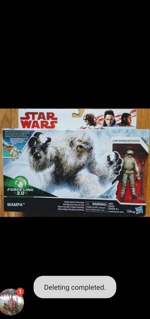 """New Star Wars """"WAMPA"""" with Action Figure. for Sale in Apopka, FL"""