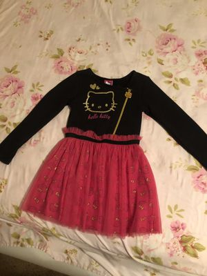 Girls hello kitty dress never worn for Sale in Glendale, AZ
