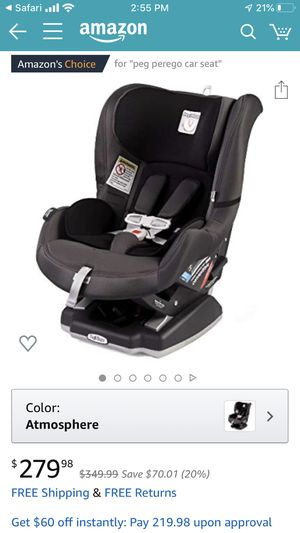 Peg perego car seats for Sale in Lake Oswego, OR