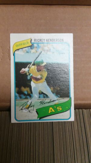 1980 Topps baseball cards set for Sale in Enumclaw, WA