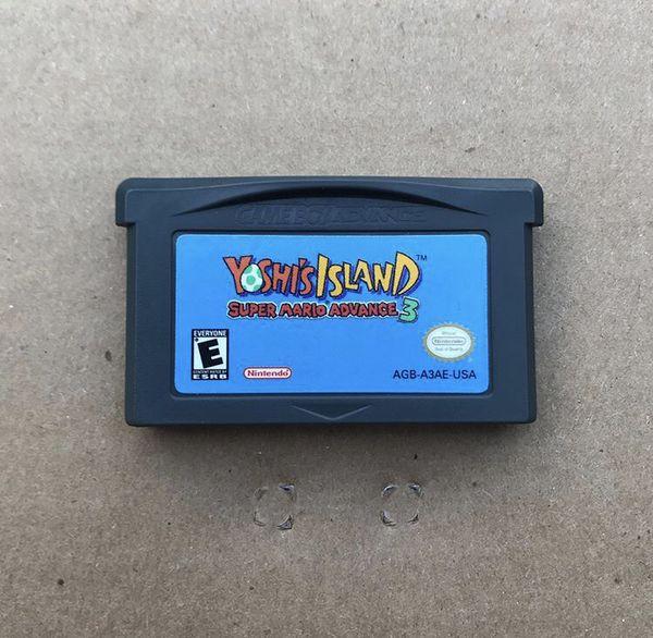 Game Boy Advance Yoshi's Island Super Mario Advance 3