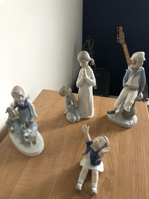 Figurines by Lladro and B&G (all of them) for Sale in St. Petersburg, FL