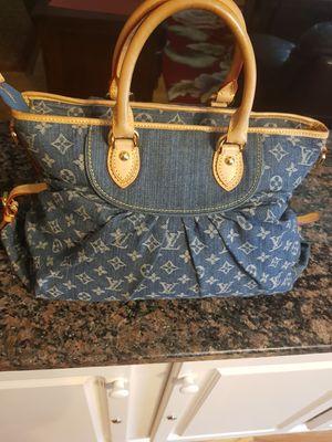 Louis Vuitton Blue Monogram Denim Bag for Sale in Marietta, GA