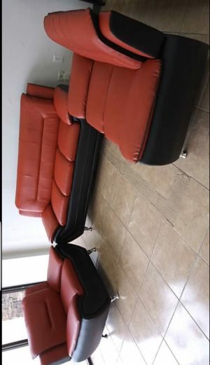 🍀Same Day Delivery ENNA RED SOFA LOVESEAT RECL. for Sale in Baltimore, MD