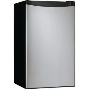 Danby 3.2 Cubic Feet Refrigerator Stainless Steel/Black for Sale in Pataskala, OH