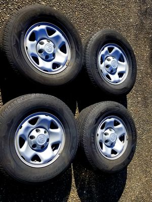 Toyota Tacoma / 4Runner 16 Inch Wheels & Good Tires for Sale in Kent, WA