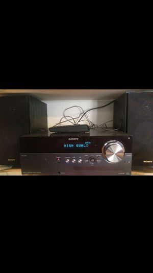 Sony receiver stereo CD and iPod player for Sale in Fountain Valley, CA