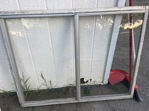 Windows 2 metal used small 36-47 large 58-36 for Sale in Escondido, CA