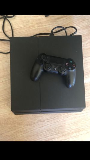 PS4 PlayStation 4 Black matte 500 gb with Fifa 19 for Sale in Tempe, AZ