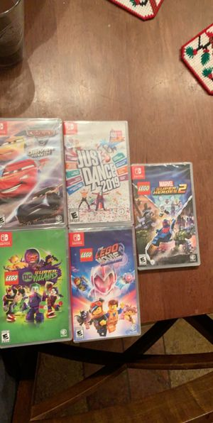 Nintendo Switch Games -SEALED- for Sale in Orange, CA