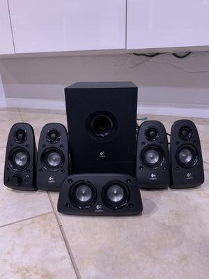 Logitech Z506 5.1 Surround Sound System for Sale in Boca Raton, FL